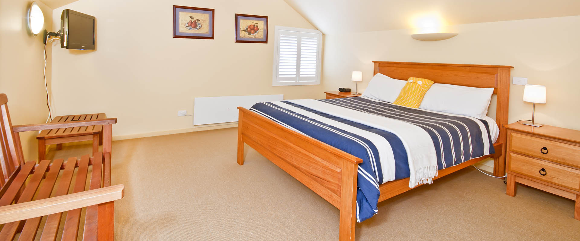 Contemporary Bed and Breakfast (B&B) in Apollo Bay.